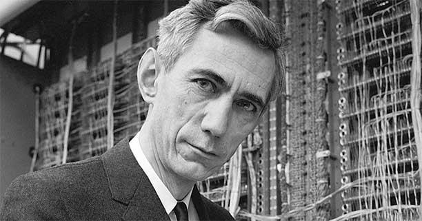 تصویر کلود شانون - پدر نظریه اطلاعات - کلود شانون کیست؟