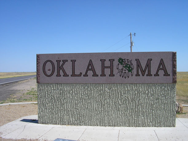 ایالت اوکلاهما آمریکا
